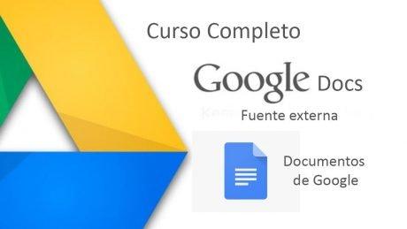 Curso google docs
